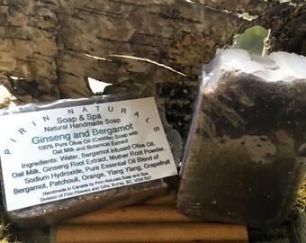 100% Olive Oil Soap – Ginseng and Bergamot
