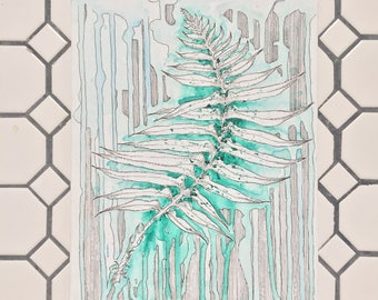 The Weeping Fern