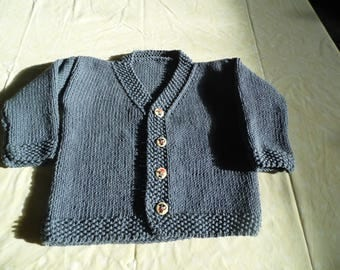 Cardigan 100% cotton blue jeans size 2 years