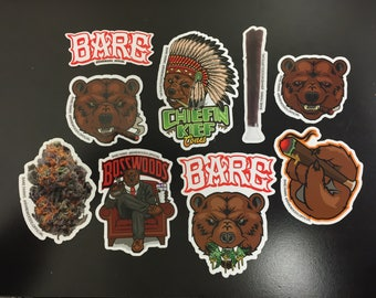 Barewoods Sticker Pack