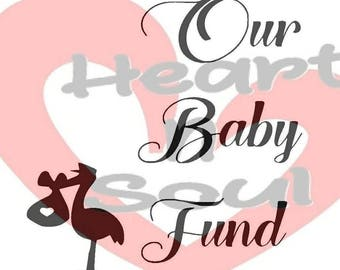 Our Baby Fund Decal