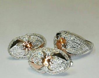 Ensemble ( earrings, ring )