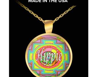 Hippie Necklace Pendant by #Googarilla. Enjoy This Great Design Style. www.Googarilla.com