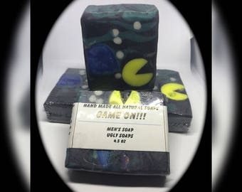Game on ~Artisan soap ~ Cold process soap ~ Ugly Soaps