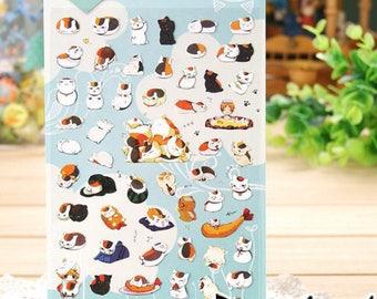Daisyland Natsume Cat Cartoon Sticker