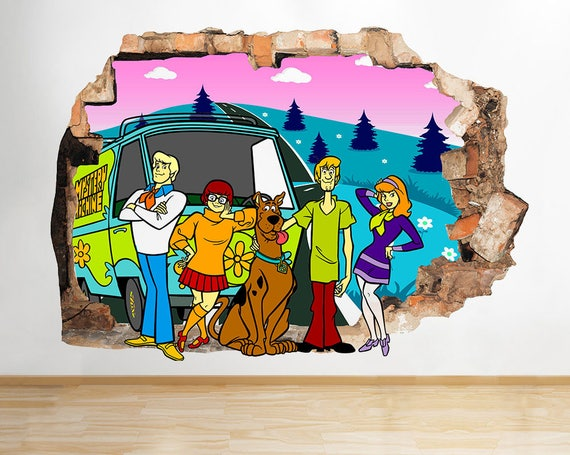 Scooby Doo Mystery Machine Decal by LoveStickerStore
