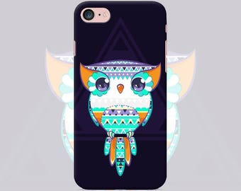 Owl Phone case iPhone case 7 7 Plus 6 6s 6 plus 5 5s 5se 4 4s Samsung galaxy case s7 edge s7 s6 s5 s4 s3 mobile phone cover case owl art