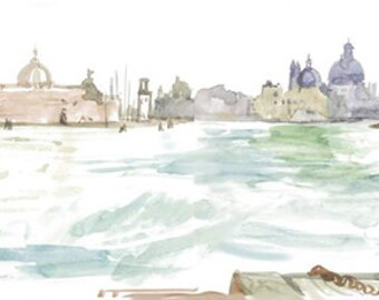 Grand Canal Venice Card