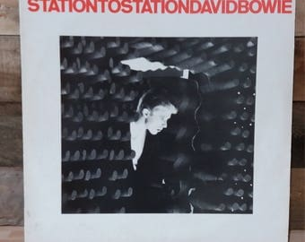 Old antique David Bowie StationtoStation LP
