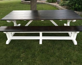 Outdoor Farm Style Table