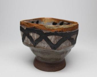 Brushwork Serving Bowl