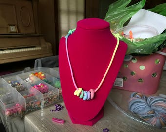 fruit loops necklace : )
