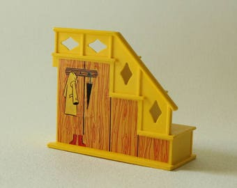 Fisher Price Little People, STAIRCASE, #952 Play Family House, 1969, Made in U.S.A.