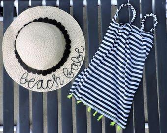 Beach Babe Kids Straw Hat