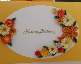 quilling custom greeting cards