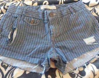 Old Navy denim cutoff shorts, handmade, sz. 2