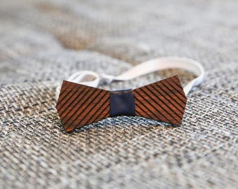 Royal Wooden Bowtie - HomeMade / Gifts for Him / Slovenian Wood /