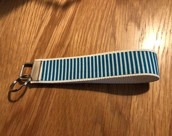 Stripes key fob / key chain