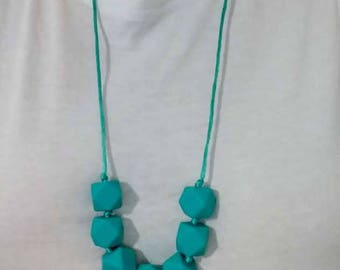Silicone Teething necklace - Nursing Necklace - Baby Shower Gift - Beads