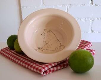 Shiba inu doge Mashiro porridge breakfast bowl