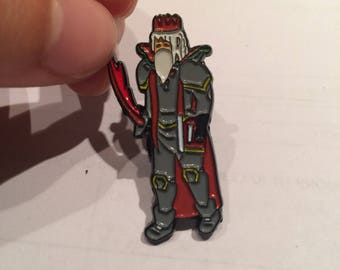 Melee Pure Runescape Festival Themed Pin