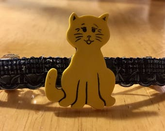 Gorgeous Handmade Kitty Cat Barrette!