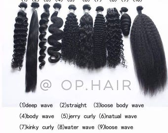 Bundle deal - cheveux bouclé