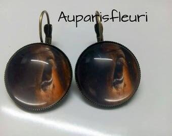 """Earrings """"horse"""""""