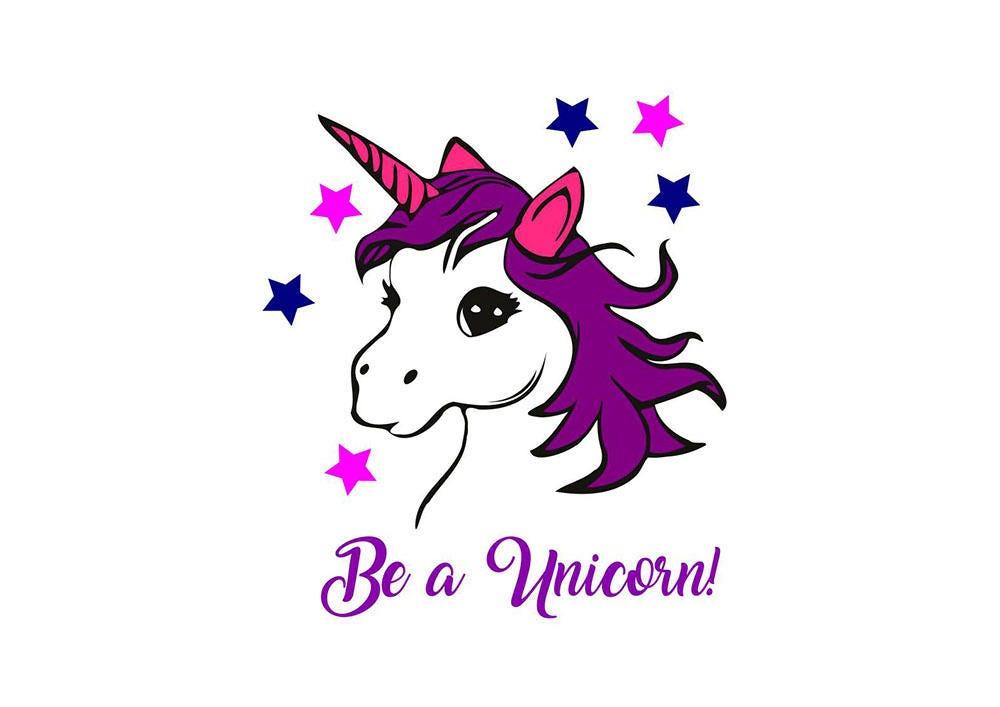 unicorn be a unicorn svg file. Black Bedroom Furniture Sets. Home Design Ideas