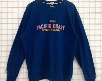 Vintage Pacific Coast Mc Gregor Sweatshirts Nice Design