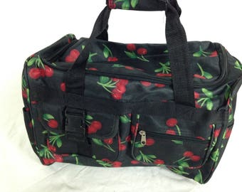 Medium cherry duffle