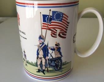Wedgwood American Bicentennial Mug