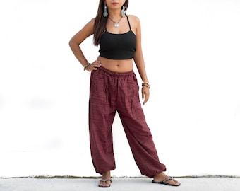 Harem Yoga Pants Women & Men Cotton pants Sweatpants, Boho Pants