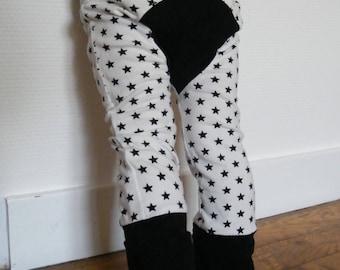 Evolutive pants black stars