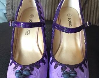 Blueberry cheesecake shoes-cake-cheesecake-wedding-fun