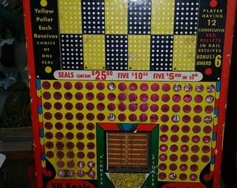 1950's punch board