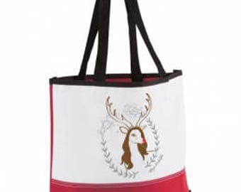 Maya Rudolph the Red Nosed Reindeer Tote Bag
