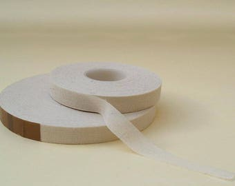 Tissue tape, standard, straight weaves iron