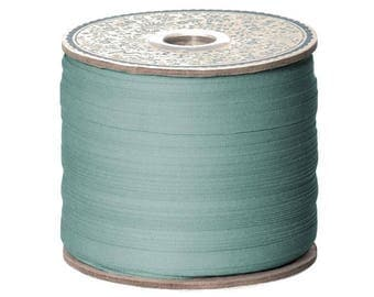 cotton Ribbon, 0.8 cm l, teal