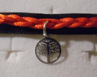 filigree tree of life charm bracelet