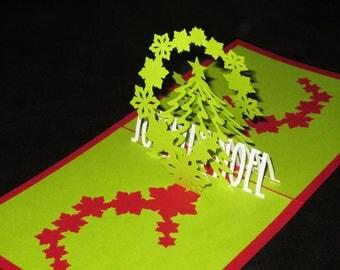 Merry Christmas 3D card