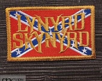 Patch Lynyrd Skynyrd Southern blues hard rock band.