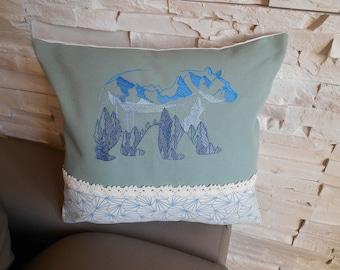 cushion bear reflection