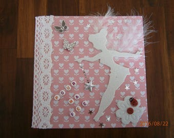 """Card all occasions collection fairy """"for my fairy"""" fairy white"""