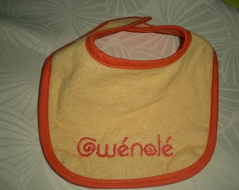my 1 personalized bib
