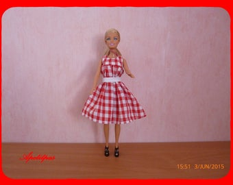 For more Barbie gingham dress: 14838509