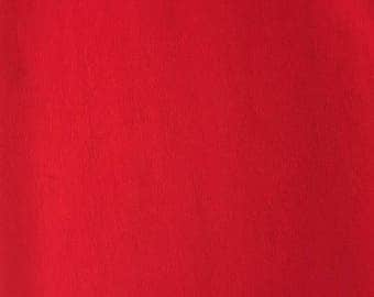 Fabric 100% jersey cotton Red