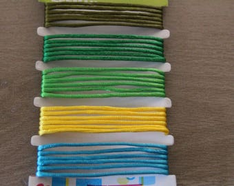 cord couleurs5 times one meter