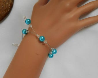 PERLICA bracelet with turquoise beads