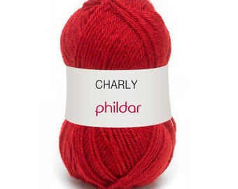 CHARLY of PHILDAR poppy yarn